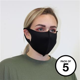 2-piece mask (Pack of 5)